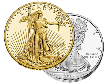 American Gold & Silver Coins for IRA